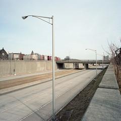 Baltimore (Riverman___) Tags: 6x6 film lamp 50mm march post kodak baltimore mamiya6 portra 125 160 2011 route40
