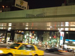 Roppongi Road at night