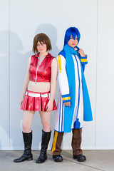 Meiko and Kaito (yeshayden) Tags: cosplay kaito meiko vocaloid genericmeet