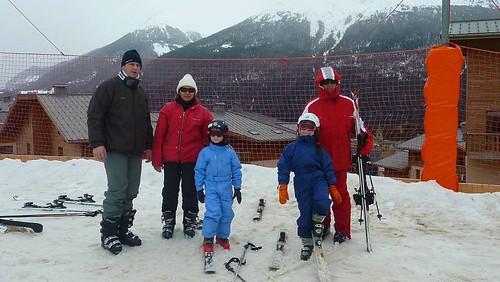 Vacances skis famille magain duong Aussois Maurienne Savoie 12-19 mars 2011 028