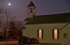 078/368: Saturday, March 19, 2011: Trinity and the Supermoon (Stephen Little) Tags: moon tower nature virginia bell belltower steeple fullmoon 78 day78 churchbell fauquier 319 wormmoon 078 churchsteeple skywatching project365 catlett 31911 tamron1750mm tamronaf1750mmf28 tamron1750mmf28 078365 365project 78365 day078 bobjill tamronaf1750mm supermoon 100offull project36612011 trinitycatlettunitedmethodistchurch sonya55 2011yip sonyslta55 3652011 slta55 sonyslta55v jstephenlittlejr sonyalphaslta55v 3192011 project36519mar11 03192011 saturdaymarch192011 19mar2011 19mar11 project36503192011