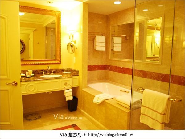 【澳門住宿】澳門威尼斯人酒店~享受奢華的住宿風格!31