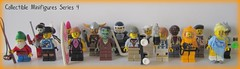 8804 Collectible Minifigures Series 4 (Be) Tags: werewolf artist punkrocker sailor viking iceskater hockeyplayer lawngnome musketeer surfergirl streetskater themonster soccerplayer series4 kimonogirl crazyscientist collectibleminifigures hazmatguy numbers116