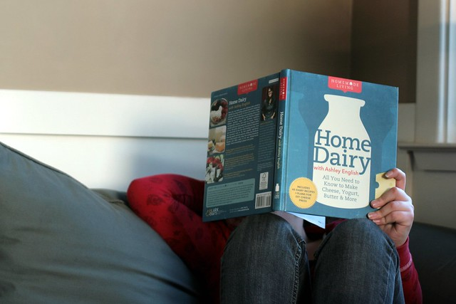 home dairy - book giveaway!