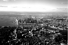 Lower Manhattan, Brooklyn And Williamsburg Bridges And The World Trade Center Buildings As Seen From A Plane - Film Photograph Taken In The Late 1990's (hogophotoNY) Tags: world from 2001 nyc newyorkcity newyork film water plane buildings river newjersey remember cityscape manhattan worldtradecenter 911 taken landmark center photograph brooklynbridge eastriver and late twintowers nyskyline hudsonriver wtc lower seen trade neverforget bigapple groundzero newyorknewyork 1990s lowermanhattan september11th williamsburgbridge newyorkny nycskyline the in thebigapple 91101 september11th2001 remember911 newyorkcitylandmarks nycbridges a landmarkbuildings as hogo lowernyc hogophoto