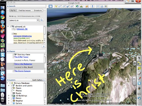 Google Earth via Air Display