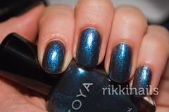 Zoya Kotori (RikkiStar) Tags: blue zoya nailpolish shimmer kotori