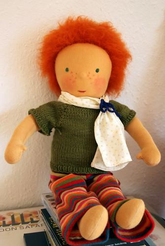 custom made doll.