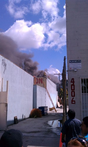 Guanajuato Tires burns on March 25, 2011