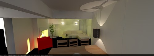 3D lounge remodelling
