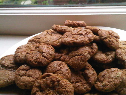 gluten free sunflower butter cookies