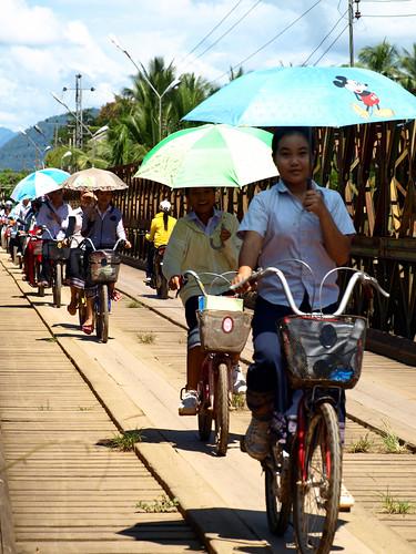 Luang Prabang - en bici