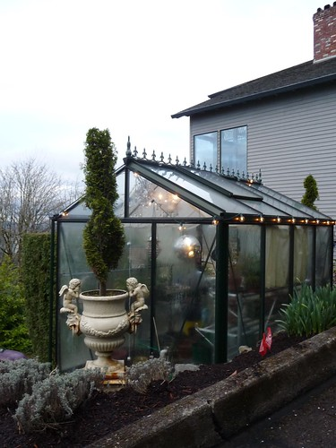 Disco Ball Greenhouse