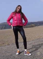 IMGP0100 (Karhu1) Tags: shiny dressed leggings