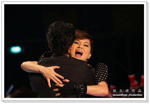 Wan Wai Fun 尹匯雰 kiss Wang Lee Hom 王力宏