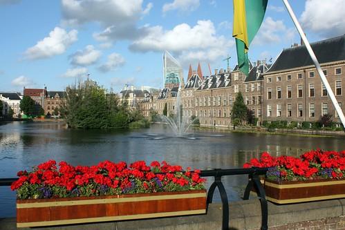 Vista de Haia na Holanda