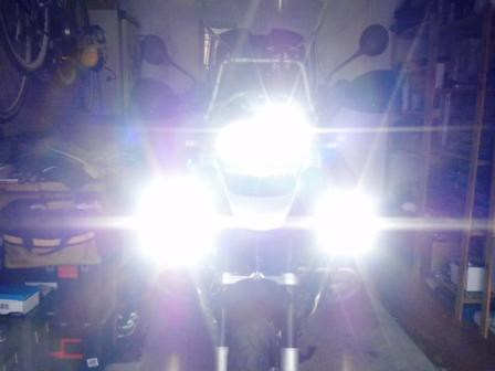motorbike hid lights