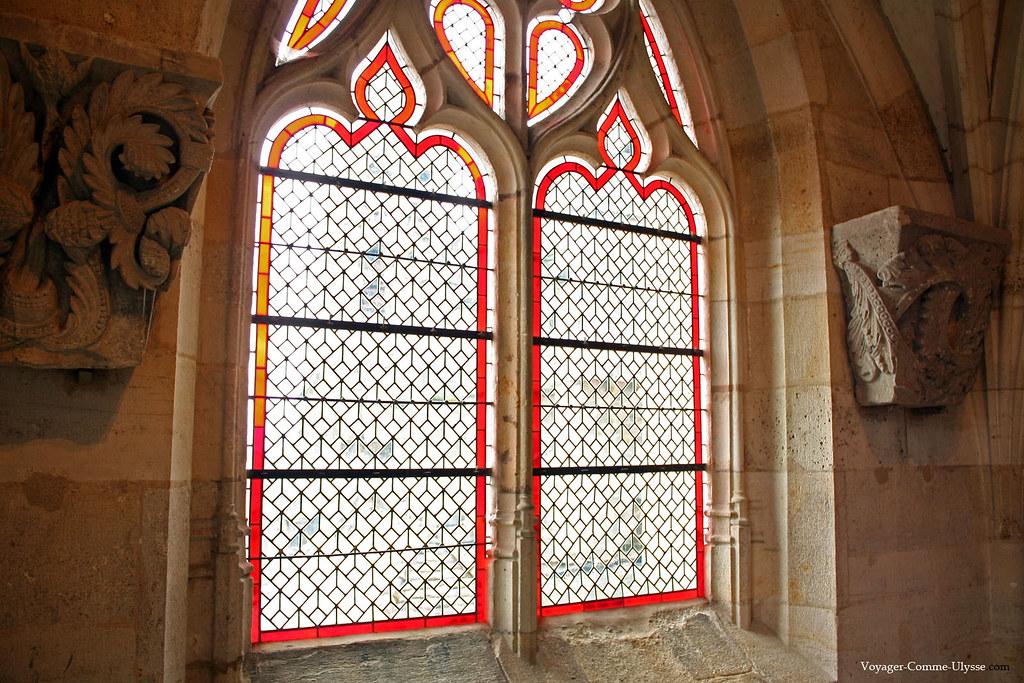 Fenêtres de la salle capitulaire