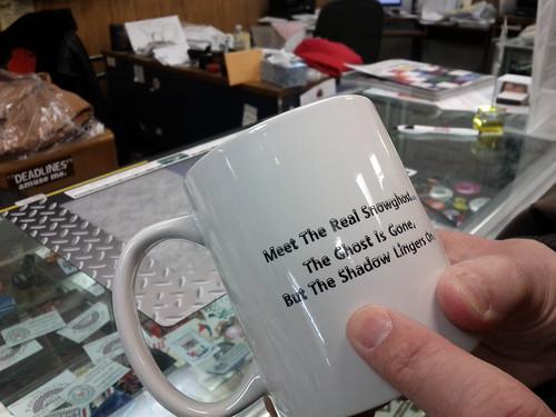 Snow Ghost mug
