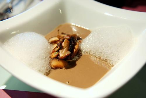 Cappuccino of Wild Mushroom