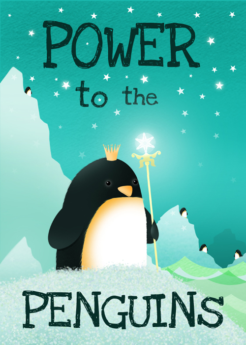 power to the penguins