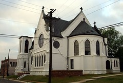 sacred heart church (Exquisitely Bored in Nacogdoches) Tags: gothic sacredheartchurch nicholasjclayton nicholasclayton palestinetexas