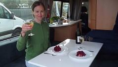 Salad + Wine