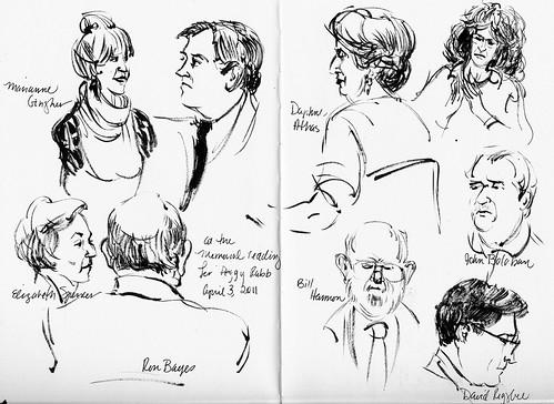 Margaret Rabb memorial reading, UNC, April  3, 2011