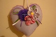 Sachê perfumado (Be Artes e Encantos) Tags: flores fuxico feltro presente fitas perolas decoraçao perfumado saches sachesperfumados comrendas