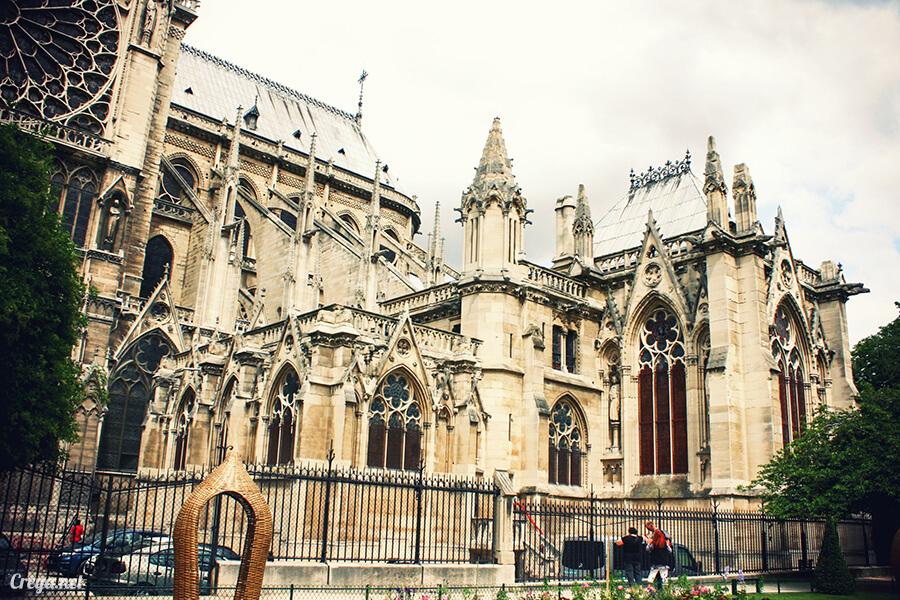 2016.10.02 ▐ 看我的歐行腿▐ 法國巴黎一日雙聖,在聖心堂與聖母院看見巴黎人的兩樣情 21