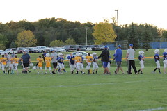 1473 (bubbaonthenet) Tags: 09292016 game stma community 4th grade youth football team 2 5 education tackle 4 blue vs 3 gold