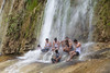 goram ghat waterfall (durgeshnandini) Tags: waterfall slowshutterspeed men bathing enjoying goramghat udaipur india