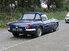 Triumph Spitfire Mark 3 (occama) Tags: ouc370f triumph spitfire mk3 old car cornwall uk classic vintage british sports blue 1967
