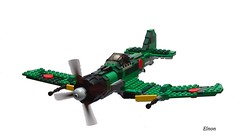 Nakajima Ki-125 Washi (allied code-name Eddie) (Enon) Tags: fighter lego aircraft large guns rockets heavy bomber carrier interceptor multirole foitsop