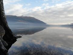 Jan day loch lomond side 1 (Michael Grey!) Tags: benlomond lochlomond lakescene scottishwinter michaelgrey mistonlake scotlandinwinter dunaber scotlandinjanuary