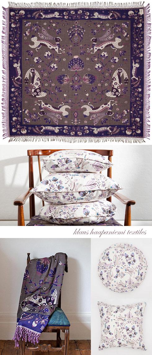Klaus Haapaniemi textiles