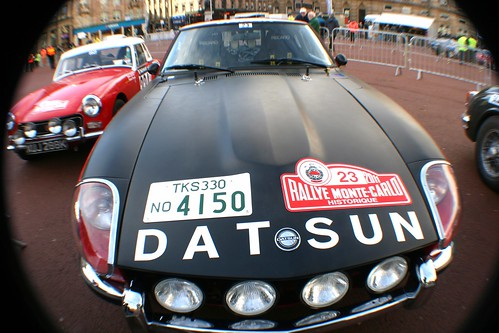 Classic Datsun Rally Car