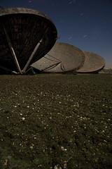 RAF Stenigot 2 (EveryoneFreezes) Tags: moon night long exposure satellite lincolnshire full dishes raf stenigot topospheric