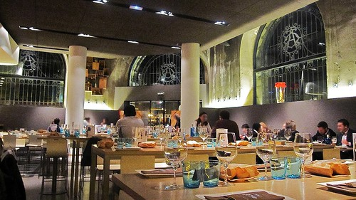 Ambiente en el comedor - Atea Restaurante - Bilbao
