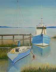 Business or Pleasure (William Yipp) Tags: sea boats sailing yachts berth