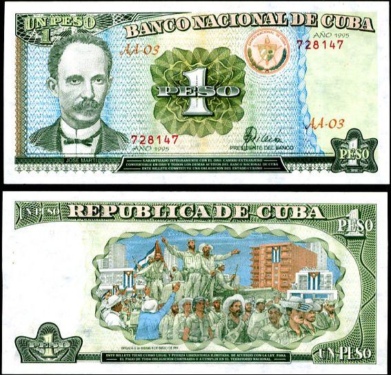 1 Peso Kuba 1995, P112