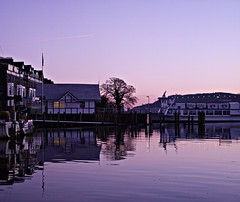 Evening, Ambleside (Lune Rambler) Tags: england lake water beauty peace jetty lakedistrict tranquility cumbria ambleside lakewindermere windermere englishlakes pleasureboat northwestengland lakecruiser oltusfotos lunerambler tripleniceshot mygearandme 4timesasnice 6timesasnice 5timesasnice 7timesasnice
