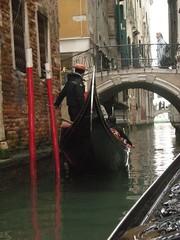 Our Gondola ride (Mystic Ed & Fluffy) Tags: venice italy rialtobridge travelling water italian italia sailing steering bridges cargo ponte gondola venetian venezia grandcanal rialto gondolier adriatic gondolieri