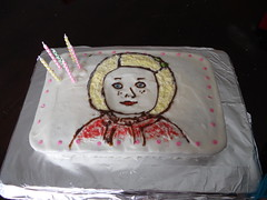 """Kit Birthday Cake with Pink Dots"""