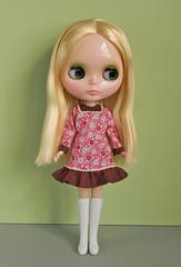 yoke dresses pink