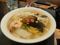 Seafood Noodle Soup $12.80 [Singapore Chom Chom, City]