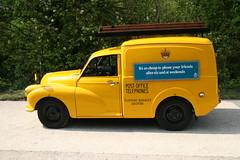 WLF801G EX-British Telecom Morris Minor Van (kitmasterbloke) Tags: england car vehicles royalmail morrisminor van gpo lcv britishtelecom amberley lightcommercial povc postofficevehicleclub