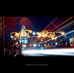 Enter The Dragon (Emmanuel_D.Photography) Tags: california longexposure yellow canon la losangeles dragon lighttrails coolness starburst astig 50d 1740mmf4l emmanueldasalla