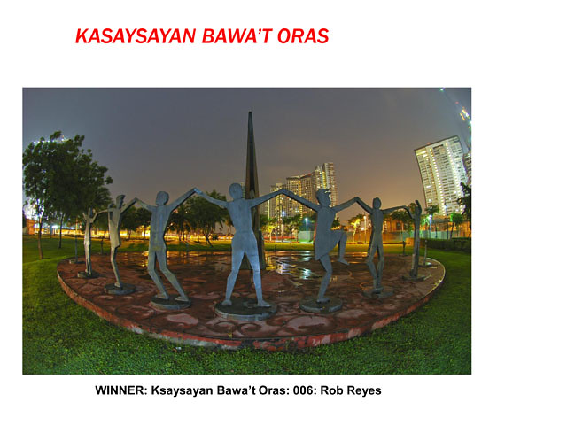 Kasaysayan Bawa't Oras by Rob Reyes