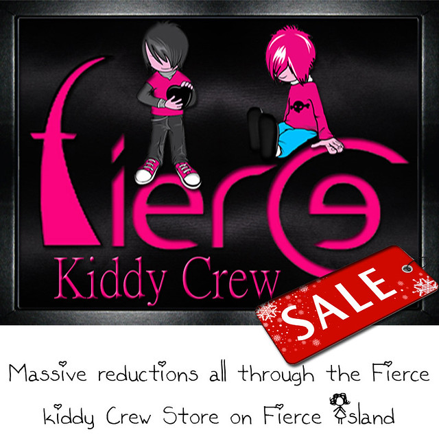 Fierce Kiddy crew sale